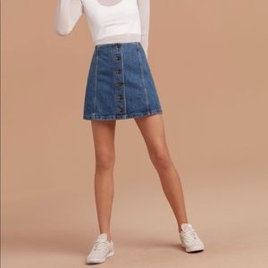 New Wilfred Free Ahrens Skirt Aritzia